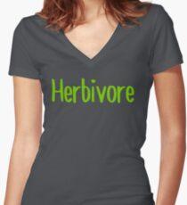 Herbivore Women's Fitted V-Neck T-Shirt