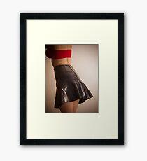That's A Holga Short Skirt Framed Print