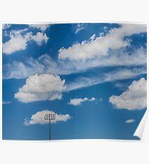 Ballpark Sky Poster