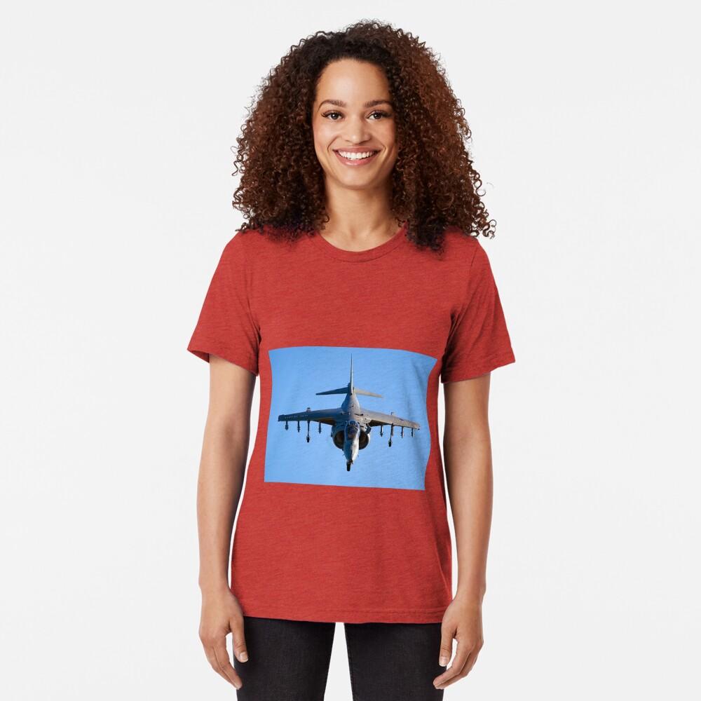 Harrier Jump Jet Tri-blend T-Shirt