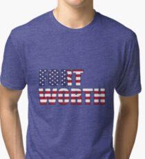 Fort Worth. Tri-blend T-Shirt