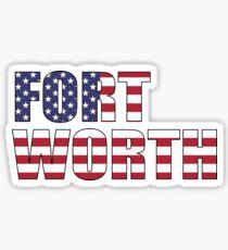 Fort Worth. Sticker