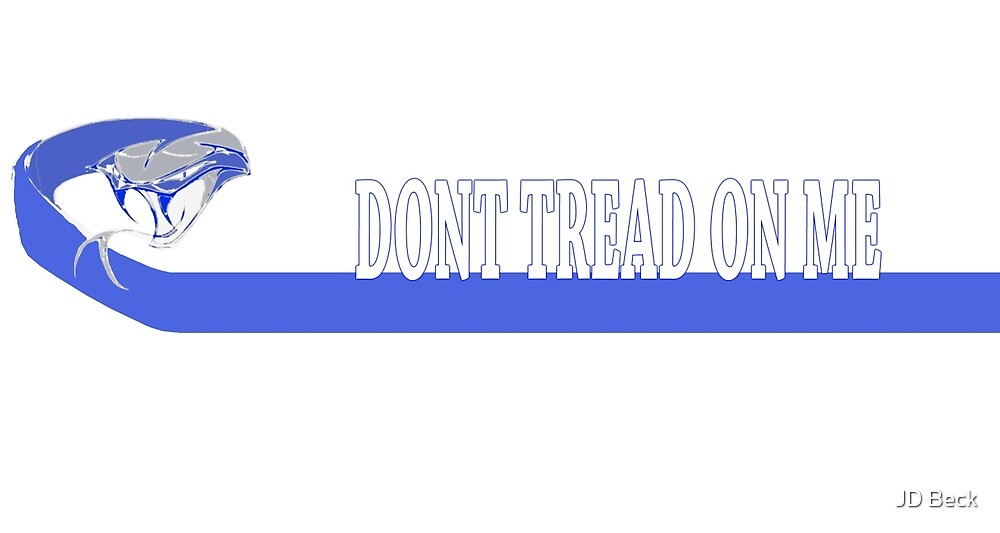 Dont tread on me by BlueLine LEO