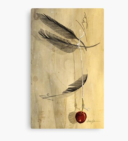 Hangs in the Balance, by Alma Lee Canvas Print