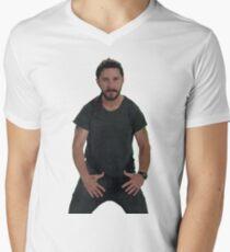 Shia LaBeouf | JUST DO IT!  Men's V-Neck T-Shirt