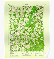 New York NY Hubbardsville 129930 1944 31680 Poster