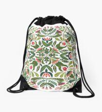 Little red riding hood - mandala pattern Drawstring Bag