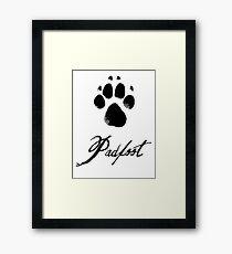 Padfoot Framed Print