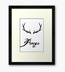 Prongs Framed Print