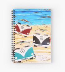 VW Kombi Van Summerluvn Friends Spiral Notebook
