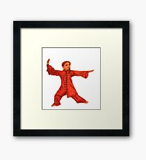 Martial Arts Lady Framed Print