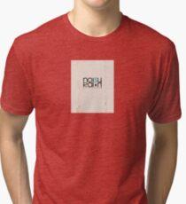 Noisy Rain Vintage Logo Tri-blend T-Shirt