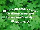 Irish Blessing by FrankieCat