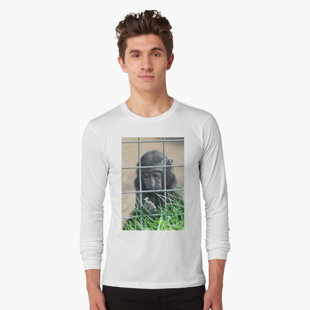Caged thoughts... Long Sleeve T-Shirt