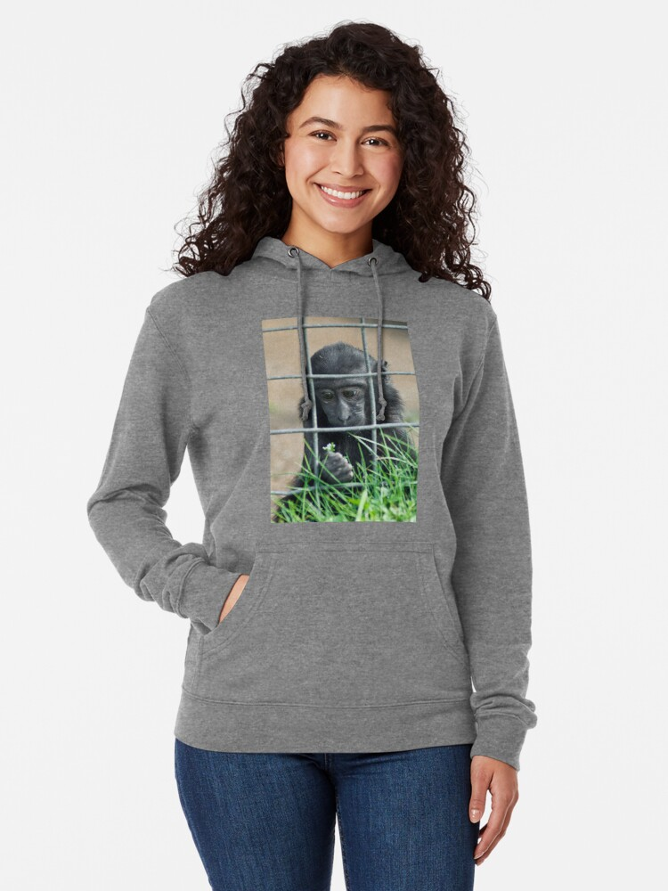 Alternate view of Caged thoughts... Lightweight Hoodie