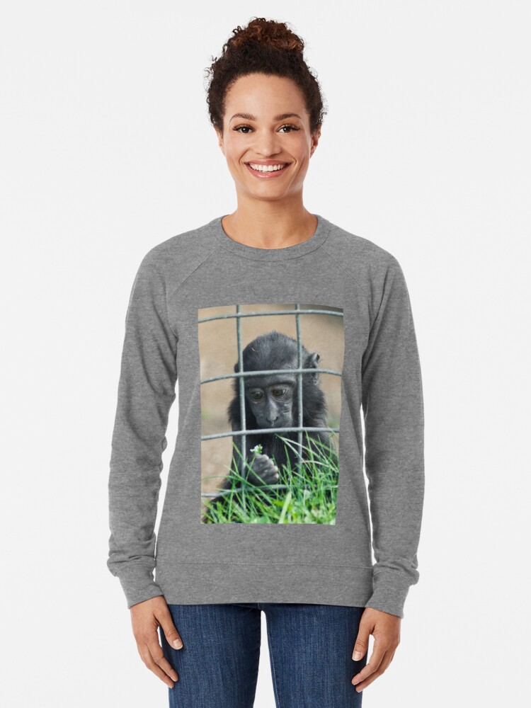 Alternate view of Caged thoughts... Lightweight Sweatshirt