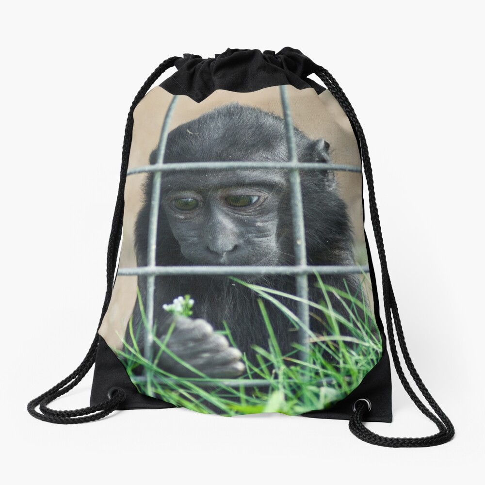 Caged thoughts... Drawstring Bag