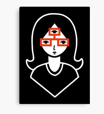 Third Eye Glasses Canvas Print