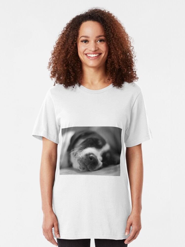 Alternate view of Sleeping Puppy Slim Fit T-Shirt