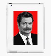 Ron Swanson iPad Case/Skin