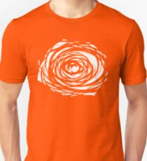 Abstract Flower Inversion T-Shirt