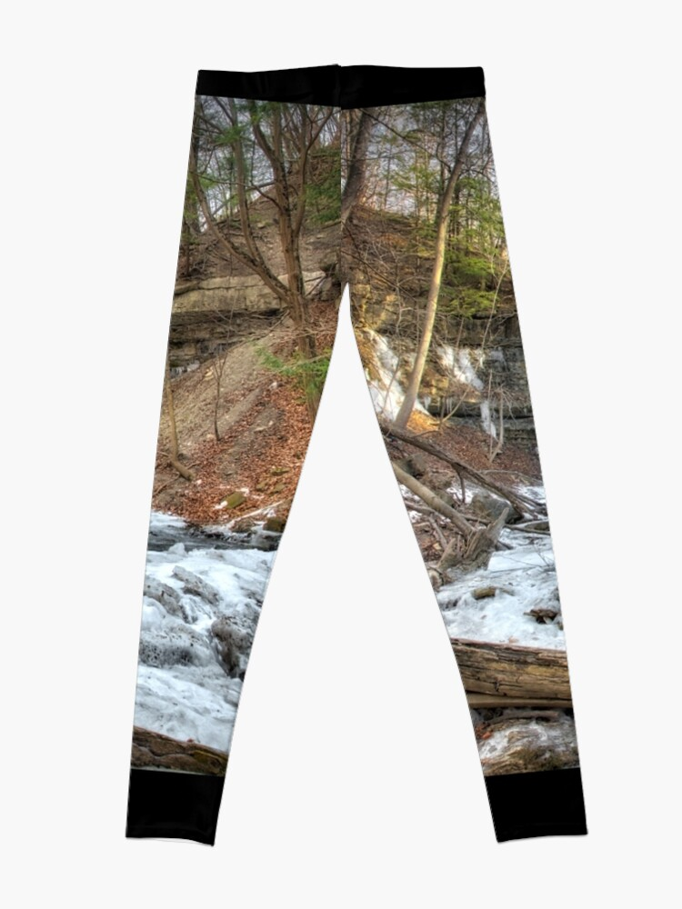 Alternate view of Thawing waterfall Leggings