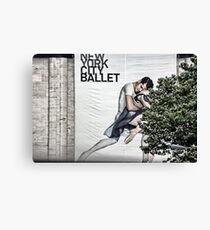 New York City Ballet Canvas Print