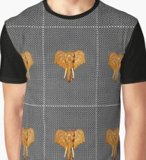 An Elephant on the CASE Graphic T-Shirt