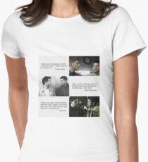 Destiel Tailliertes T-Shirt