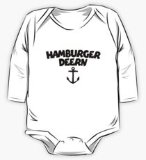 Hamburger Deern Anker (Schwarz) One Piece - Long Sleeve