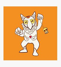 Hypno Pokemuerto | Pokemon & Day of The Dead Mashup Photographic Print