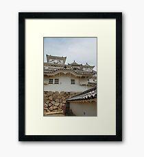Castle at Himeji, Kansai, Japan Framed Print