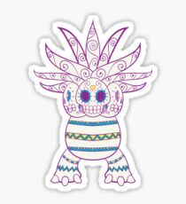 Exeggutor Pokemuerto | Pokemon & Day of The Dead Mashup Sticker