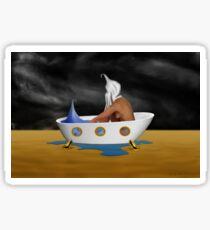 SURREALISM - Day Dreaming Bath Sticker