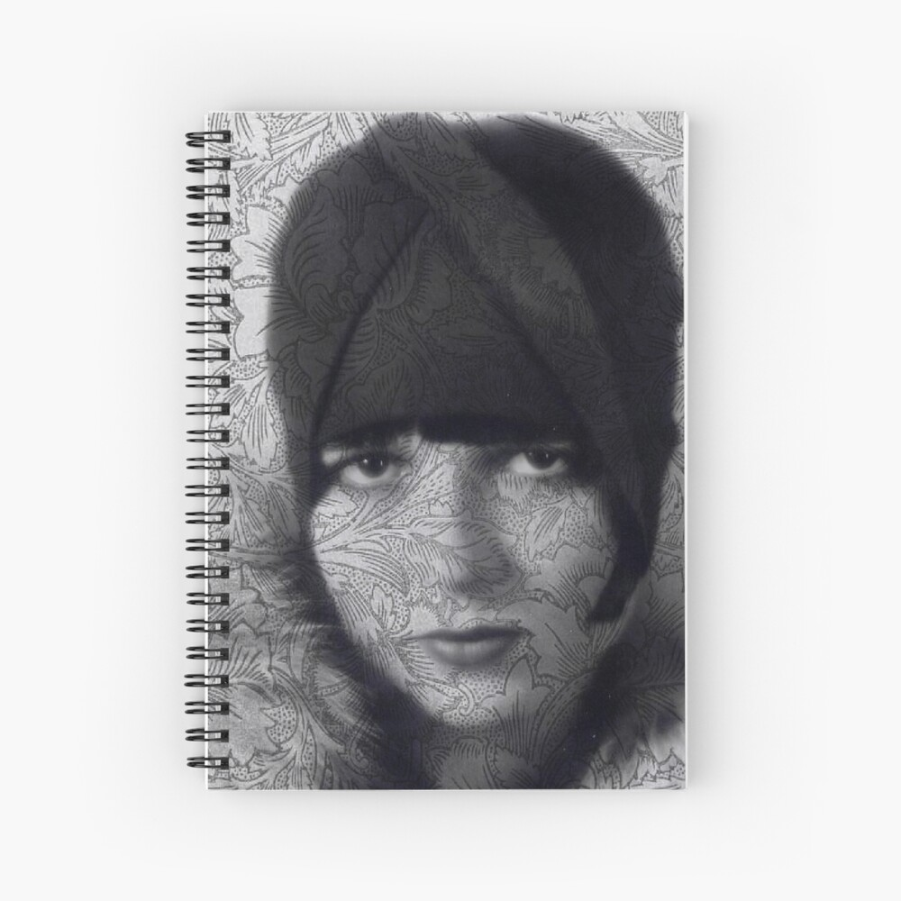 The Louise Brooks Tattoo Take 2 Spiral Notebook