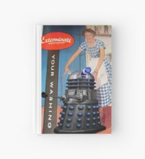 Exterminate .... your washing Hardcover Journal