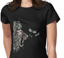 Temper temper Mr Lion Womens Fitted T-Shirt