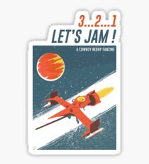 Let's Jam - Cowboy Bebop Sticker