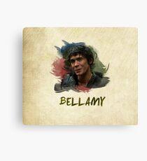 Bellamy - The 100 Canvas Print