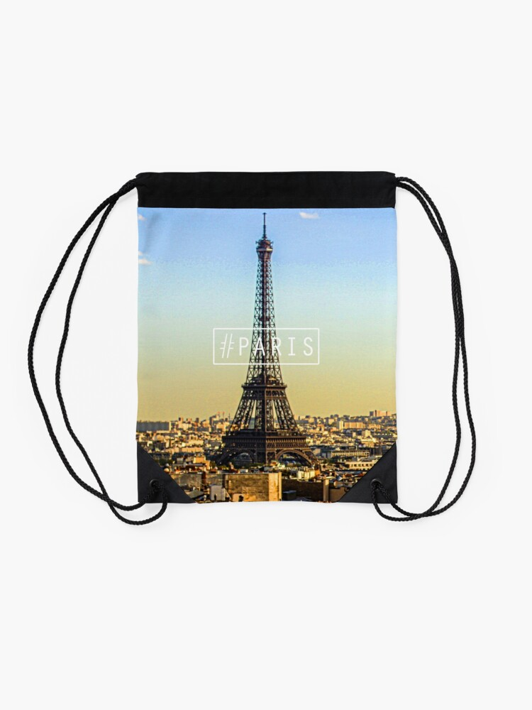 Alternate view of -PARIS- Drawstring Bag