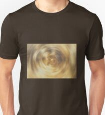 Brown Circular Blur Unisex T-Shirt