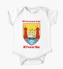 County Cork Coat of Arms One Piece - Short Sleeve