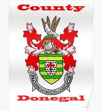 County Donegal Coat of Arms Poster