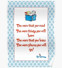 The more you read Poster