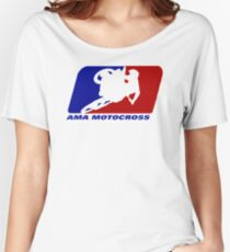 AMA motocross superbikes motorbike heather Women's Relaxed Fit T-Shirt