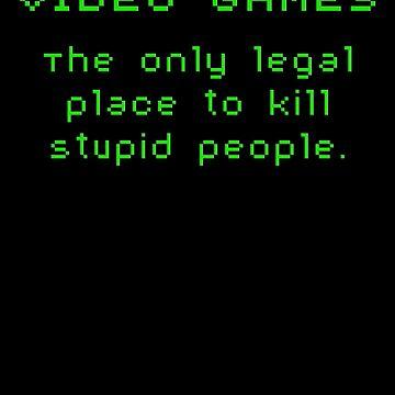 Video Games by LittleRedTrike