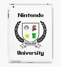 Nintendo University iPad Case/Skin