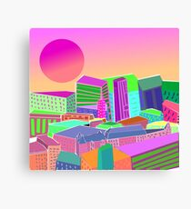 bubblegum utopia  Canvas Print