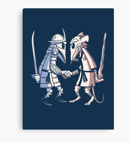 Sensei vs Sensei Canvas Print