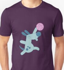 Puppy playing basketball T-Shirt